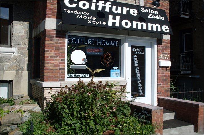 Salon Zoela - coiffure homme, Montréal Hochelaga-Maisonneuve
